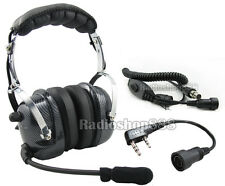 RACING HEADSET HEADPHONE FOR PX-777 TG-UV2 KG-UVD1  4-081 + 44-K