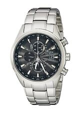 Citizen Eco-Drive Men's AT8010-58E Radio Controlled Chronograph World Time Watch