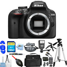 Nikon D3400 DSLR Camera Body Only (Black)!! MEGA BUNDLE BRAND NEW!!