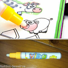 Kids Write Draw Pen Brushes Paint Water Canvas Magic Doodle Mat Fun Toy Gift
