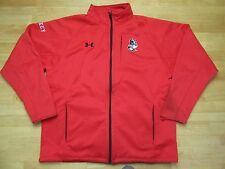 Boston University Hockey Under Armour Jacket Red  Men Terriers Large L