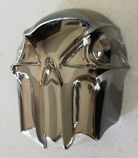 Harley-Davidson Custom Skull HORN COVER ~ 92 and up ~ Dark Chrome Kuryakyn ~ NEW