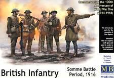 Masterbox British Infantry Britische Infanterie WWI 1916 Weltkrieg 1:35 kit NEU