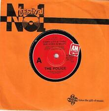 """THE POLICE - EVERY LITTLE THING SHE DOES IS MAGIC - 7"""" 45 VINYL RECORD - 1981"""