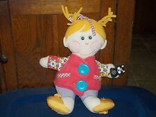 HASBRO PLAYSKOOL DRESSY BESSY 2001 TEACH ME LEARNING DOLL PLUSH