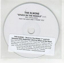 (GG628) The Elwins, Stuck In The Middle - 2013 DJ CD