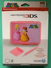 PEACH & DAISY CHARACTER HARD-CASE KIT for NINTENDO DS & 3DS CONSOLES new & boxed