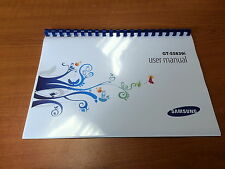 SAMSUNG GALAXY ACE GT-S5839i PRINTED INSTRUCTION MANUAL USER GUIDE 130 PAGES A5