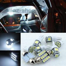 Xenon White LED Interior Light Package Kit For hyundai Azera 2012-2015
