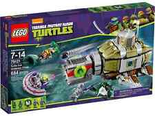 LEGO® Teenage Mutant Nina Turtles 79121 Turtle Sub Undersea Chase NEW MISB NRFB