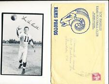 1957 Los Angeles Rams Team Issue 37 Card set & envelope in em/nm condition