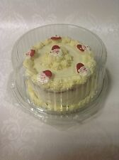 "SAVER PRICE 10 x CLEAR DISPOSABLE CAKE DOMES cake box packaging for ** 8"" cake *"