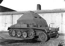 German Army Modified Halftrack Peenemunde 1940 World War 2, Reprint Photo 5.5x4""
