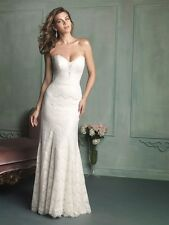 Allure Bridal 9107 Gorgeous Strapless Lace Gown - Size 12/Street Sz 8, Worn once