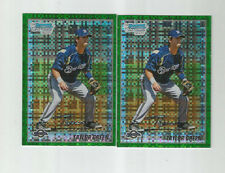 Taylor Green Lot of 2 2010 Bowman Chrome Green Xfractor Rookie RC
