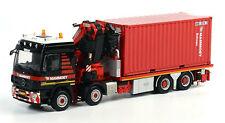 WSI Mammoet - Mercedes MP3 L Rigid w/ Fassi F1100 Knuckleboom Crane. 1:50th MIB.