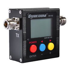 SURECOM SW-102 Digital Power &SWR Meter VHF/UHF 125-525MHz for Two Way Radio