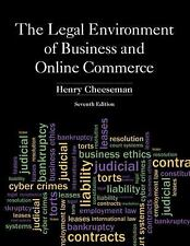 Legal Environment of Business and Online Commerce, The (7th Edition)