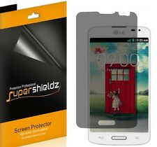 2X Supershieldz Privacy Anti-Spy Screen Protector Shield Film For LG Optimus L90