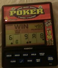 RADICA:  Poker 3 Games 2 players game with new AAA batteries