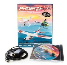 PHOENIX RC FLIGHT SIMULATOR V5.5 INCLUDES CD & USB - SPEKTRUM RTM5500