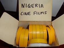 8mm FILM REELS x 12  - NIGERIA AFRICA  VINTAGE HOME CINE MOVIES