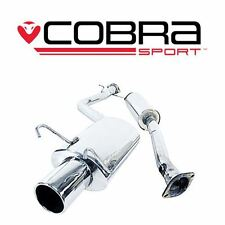 LX04 COBRA SS EXHAUST fit Lexus IS200 98 05 Cat Back System (Resonated)