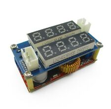 1PCS 5A Adjustable CC/CV Display Step Down charge Module LED Panel Voltmeter