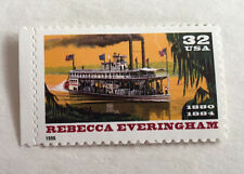 Single 32c US Postage Stamps 1996 Scott #3094 Riverboats Rebecca Everingham MNH