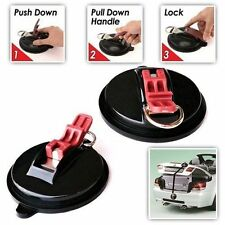 2PC HEAVY DUTY TIE DOWN SUCTION CUP ANCHORS MOVING TRAVELLING HOLDS UP TO 22KQ