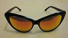 SPEKTRE Eva Cat - eye Frame Sunglasses Orange Mirrored Lenses Size - 55-16-140