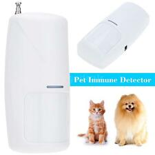 433MHz Wireless 10KG Pet Immune Motion PIR Detector Sensor Security Alarm W7M0