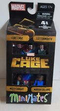 Diamond Select Marvel Minimates Netflix Luke Cage Cottonmouth Misty Knight MD