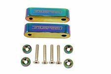 NEO Chrome JDMSPEED Hood Spacer Risers Set For Acura Integra Honda Civic CRX