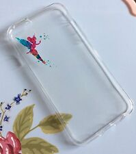 iPhone 6 6s Mobile Phone Soft Silicon Gel Case Tinkerbell Disney Xmas Peter Pan