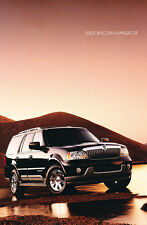 2003 Lincoln Navigator Original Car Brochure Folder