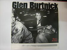 GLEN BURTNICK - HEROES & ZEROS - LP VINYL 1987 EXCELLENT CONDITION