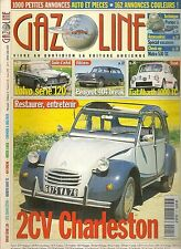 GAZOLINE 25 2CV CHARLESTON VOLVO 120 FIAT ABARTH 1000 TC PEUGEOT 404 BREAK MATRA
