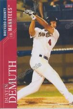 2016 Brevard County Manatees Dustin Demuth RC Rookie Brewers