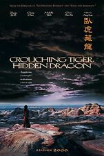 CROUCHING TIGER, HIDDEN DRAGON (2000) ORIGINAL MOVIE POSTER ADVANCE - ROLLED 2-S