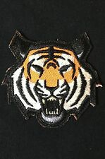 TIGER HEAD USA ARMY MORALE FULL COLOR EMBROIDERED PATCH VELCRO® BRAND FASTENER