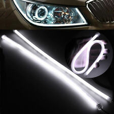 45cm Car LED Angel Eyes DRL Daytime Running Light Lamp Flexible White