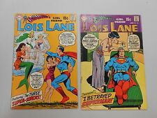 Superman's Girl Friend Lois Lane comic lot of 2! #'s 97 and 98! FN6.5 -VG4.0 DC!