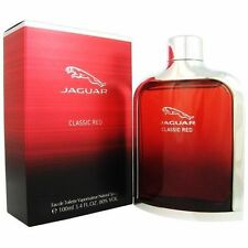Jaguar Classic Red by Jaguar 3.4 oz EDT Cologne for Men New In Box