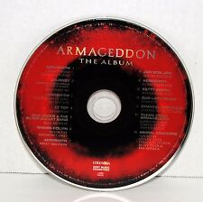 Armageddon The Album (CD,1998,Sony) Aerosmith Journey ZZ Top Smyth Seger