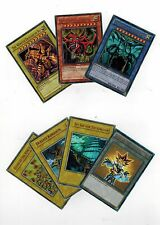7* Ultra Set YUGIOH-OBELISK-SLIFER-RA-EGYPTIAN-GODS +DUELIST KINGDOM TOKEN YGLD