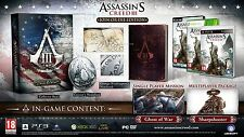 ASSASSIN'S CREED III JOIN OR DIE EDITION per PC di Ubisoft, 2012, sigillato