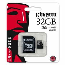 KINGSTON 32GB Micro SD CARD for Sony Xperia M4 AQUA M5 M2 T3 Z3 Z2 Z1 E1 E4 E4G