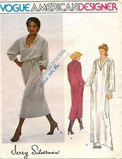 VOGUE Misses' Dress Jerry Silverman Pattern 2056 Size 10 UNCUT