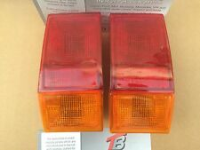 MK1 Fiesta Pair of New Non Genuine Rear Lights Red Amber Only XR2 Supersport